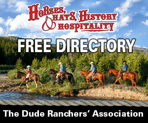 horseback riding vacations through the Dude Ranchers' Association