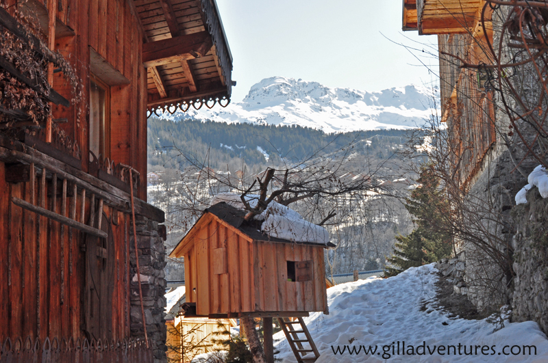 Meribel from Chandon, France