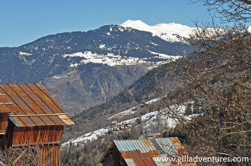 Meribel Valley from Chandon, France