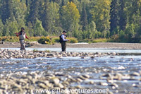 talachulitna during the silver salmon run