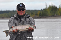 Fishing the Yentna in Alaska