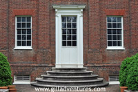historical annapolis back door