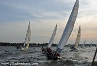 sailboat races in Annapolis, Maryland
