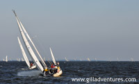 Annapolis sail boat races on Wednesday night