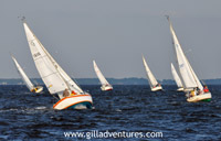 Annapolis sailboat races on Chesapeake Bay