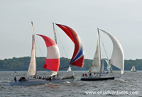 sailboat races on the Chesapeake Bay, Annapolis