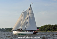 schooner on the chesapeake