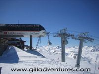 Three Valleys chairlift