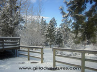 Winter at Rock Springs Guest Ranch