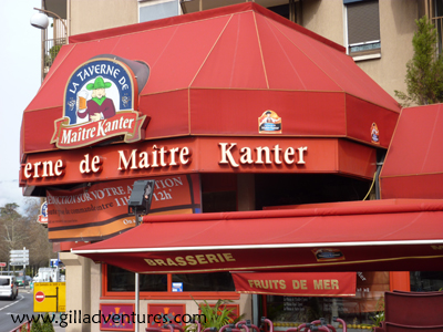 La Taverne de Maitre Kanter in Chambery, France