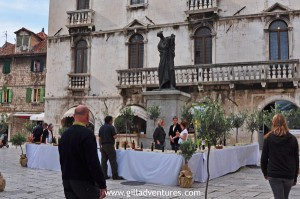 Olive oil tasting in Split, Croatia