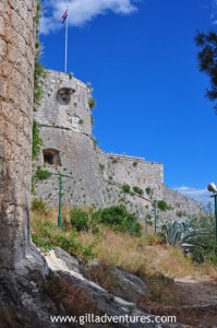 The Fortress above Hvar Town, Croatia